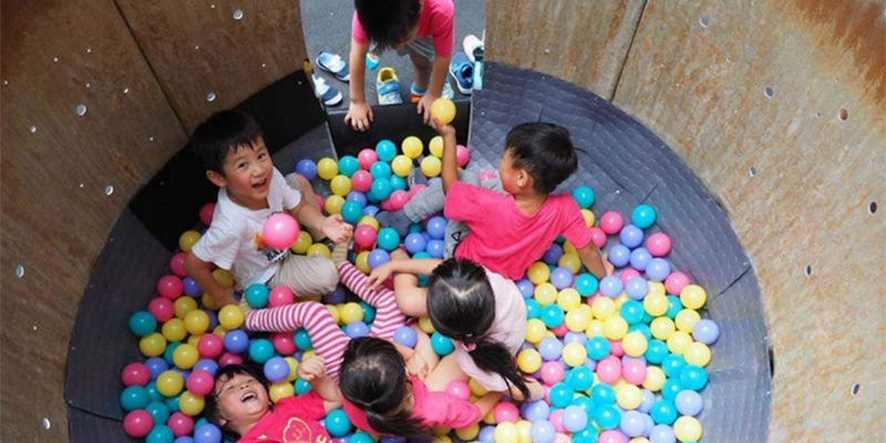 re-create taipei: เปลี่ยนขยะให้เป็นสนามเด็กเล่นในไต้หวัน
