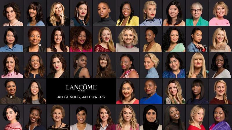 บิวตี้แบรนด์ระดับโลกเผย 40 ผู้หญิงสวย ด้วยศักยภาพของตัวเอง