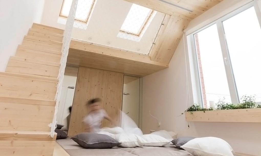 ห้องเล่นลูก+ห้องนอนพ่อแม่ ทางเลือกใหม่สำหรับพ่อแม่ขี้เซา