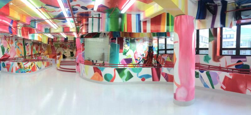 เปลี่ยนผนังโรงพยาบาลเด็กด้วยสีลูกกวาดช่วยเยียวยาผู้ป่วยเด็ก