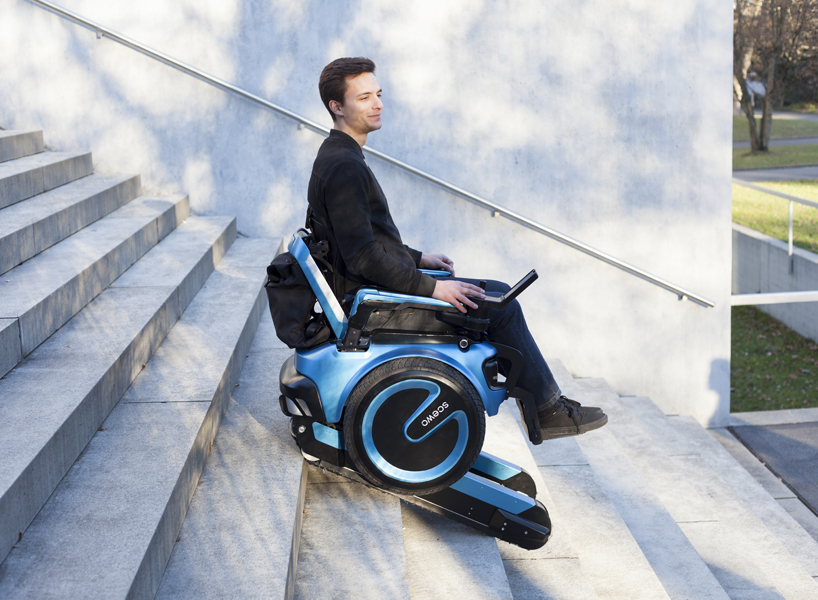 'Scewo' วีลแชร์สุดล้ำ ขึ้น-ลงบันไดได้ เพิ่มความอิสระให้ผู้พิการ