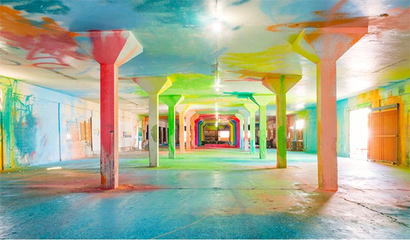 ศิลปิน Sofia Maldonado เปลี่ยนโรงงานร้างให้เป็นพื้นที่ทางศิลปะของชุมชนในเปอร์โตริโก