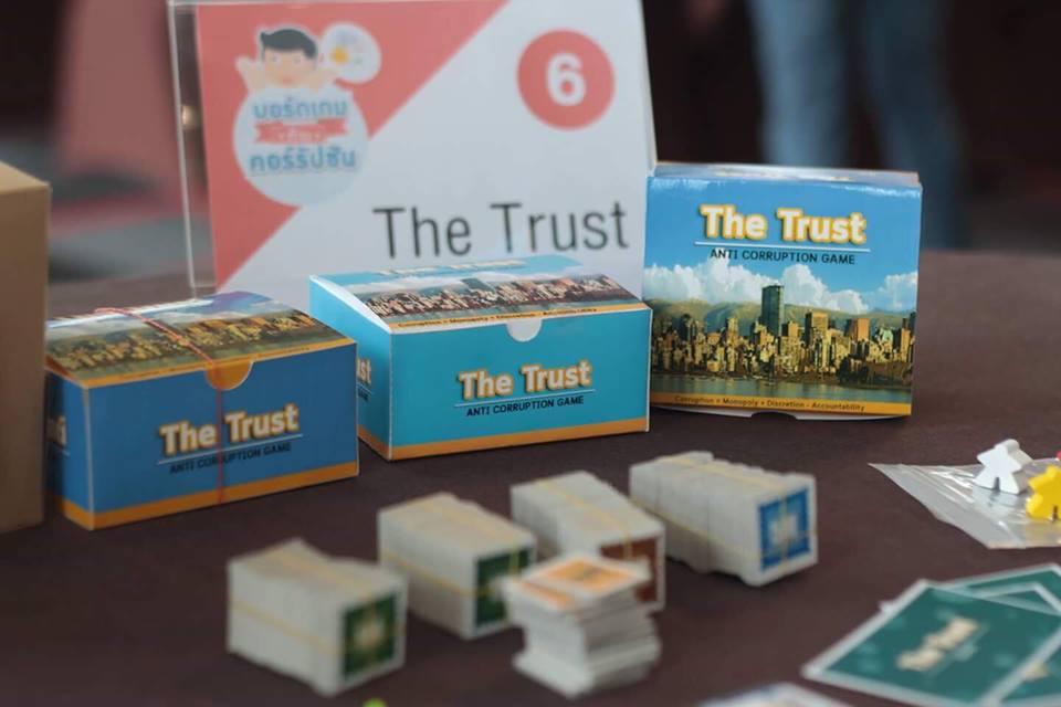 'The Trust' บอร์ดเกมส์ต้านคอรัปชั่น รู้ทันคนโกง