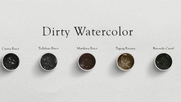 Dirty Watercolor : ภาพเขียนสีน้ำจากน้ำเสีย สร้างตระหนักรักษ์แม่น้ำในฟิลิปปินส์