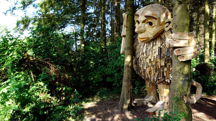 Forgotten Giants: ตามล่าหางานศิลป์ อินกับธรรมชาติในโคเปนเฮเก้น