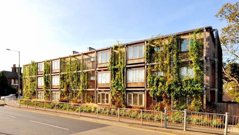 'Kings Road Affordable Flats' แฟลตประหยัดพลังงานในอังกฤษสร้างจากไม้ทั้งหลัง