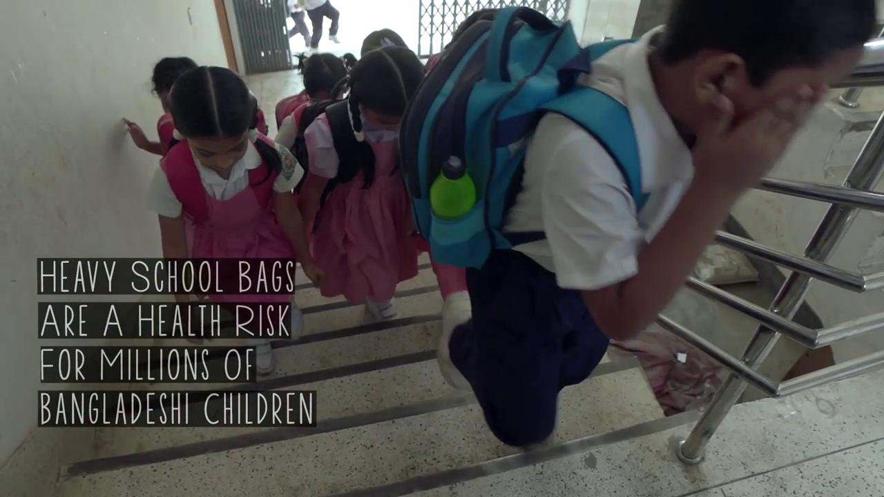 The Balanced Bag กระเป๋านักเรียนจัดสมดุลสรีระเด็ก ลดเสี่ยงภัยโรคกระดูกสันหลัง