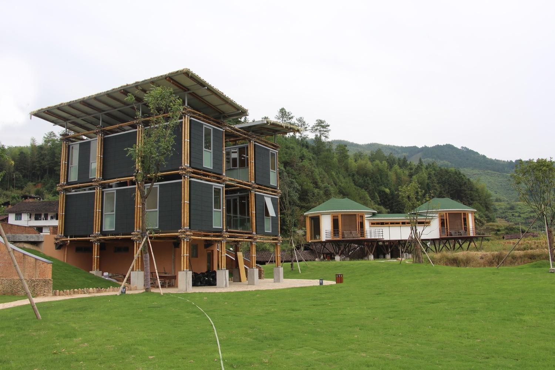 บ้านไม้ไผ่ในจีนสวยงามยั่งยืน ด้วยดีไซน์+ฮวงจุ้ย ลดโลกร้อน ใช้วัสดุท้องถิ่น