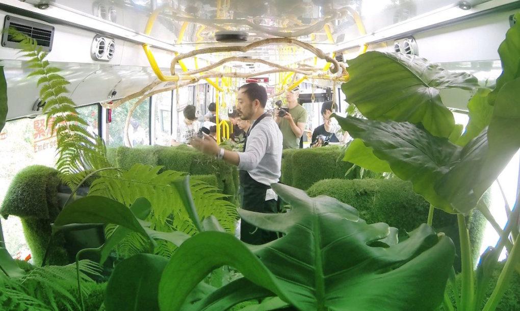 รถเมล์สวนป่าสายพิเศษสร้างความสดชื่อให้กรุงไทเปในไต้หวัน – อยากได้!!!