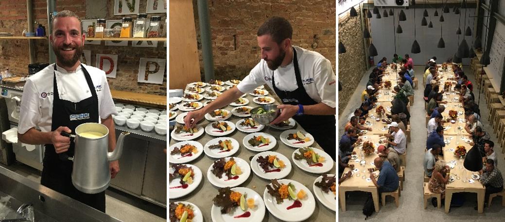 Refettorio Felix โครงการอาหารฟรีจากวัตถุดิบเหลือทิ้งฝีมือเชฟมิชลินสตาร์เพื่อคนไร้บ้านในลอนดอน