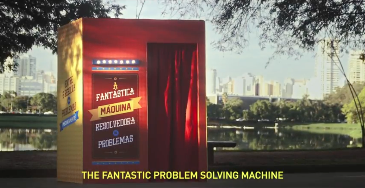 The Fantastic Solving Problem Machine: ตู้มหัศจรรย์ ช่วยแก้ปัญหาชีวิตได้ทุกปัญหา