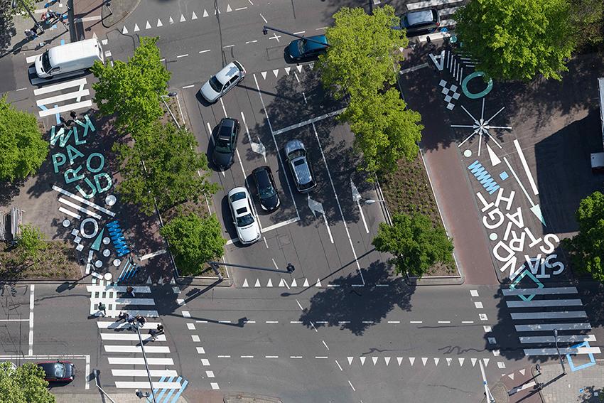 Creative Crosswalks: โปรเจ็กต์ทำทางเท้าให้น่าเดิน ส่งเสริมคนเดินเท้ามากขึ้นในร็อตเตอร์ดัม