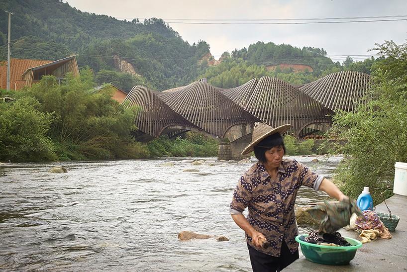 International Bamboo Architecture Biennale สถาปัตยกรรมถาวรจากไผ่ในจีน ยั่งยืนและเป็นมิตรต่อสิ่งแวดล้อม