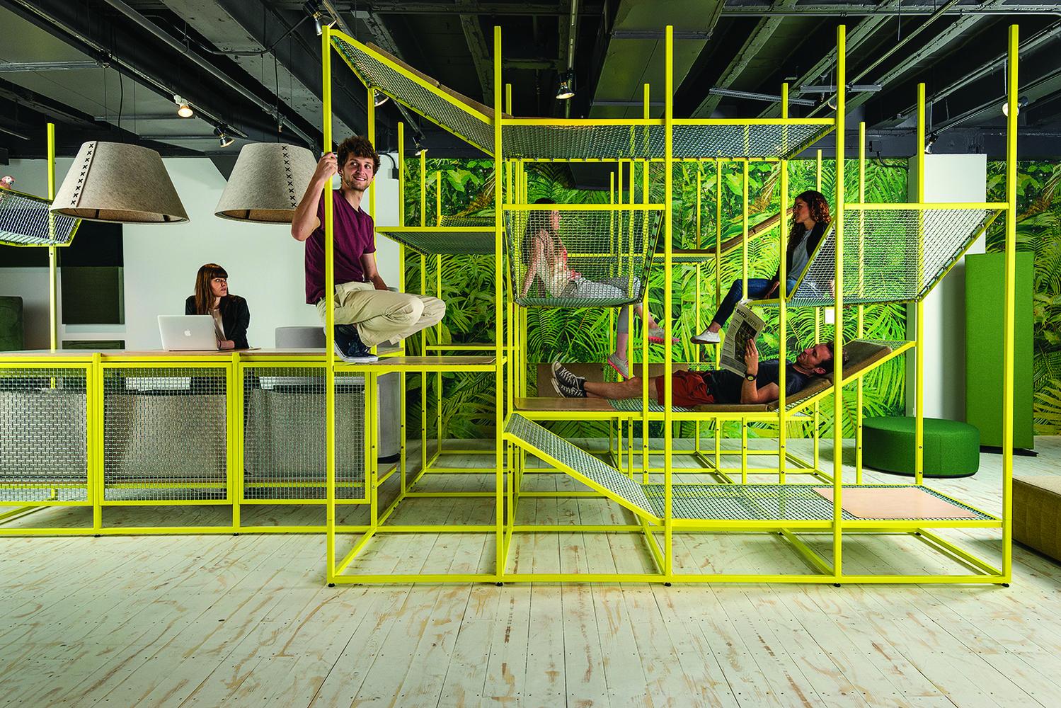 BuzziJungle พื้นที่สร้างสรรค์สร้างปฎิสัมพันธ์ด้วยการปีน นั่ง นอน พูดคุยในหลากอิริยาบท