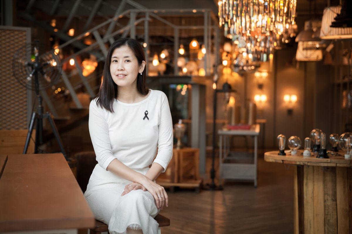 'ปรารถนา จริยวิลาศกุล' สร้างแบรนด์ผ่านธุรกิจคิดบวกเพื่อสังคม be positive plus