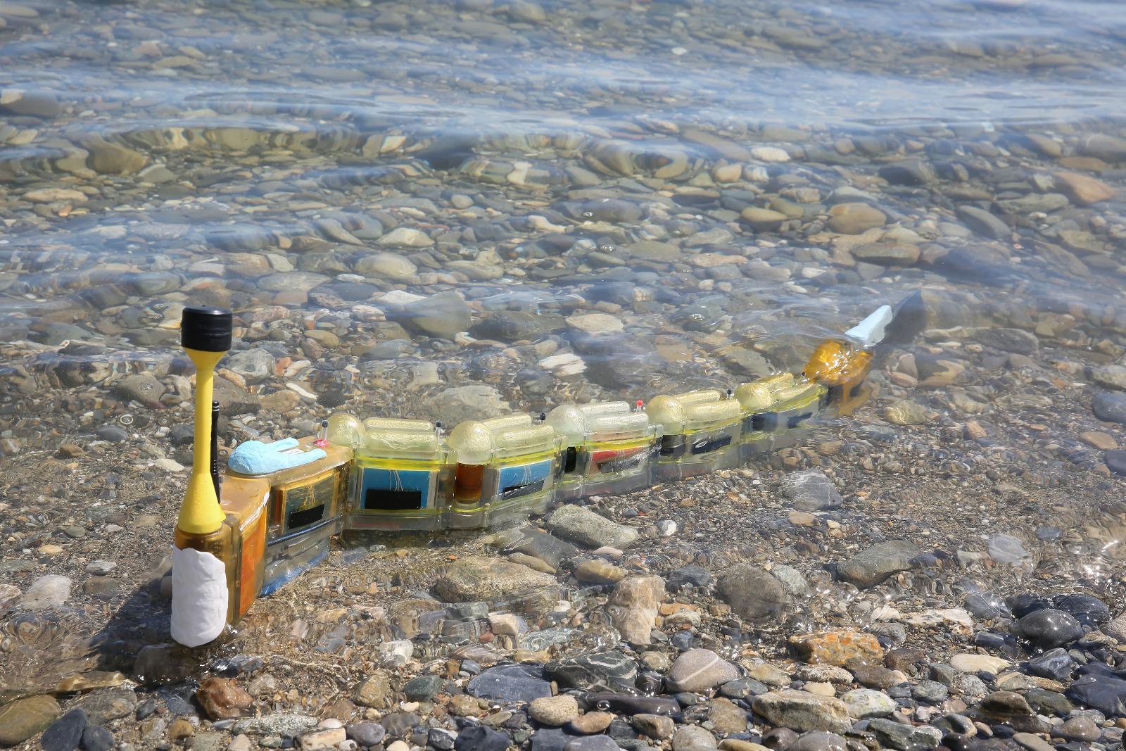 Envirobot หุ่นยนต์ปลาไหลตรวจวัดระดับและหาแหล่งมลพิษทางน้ำ