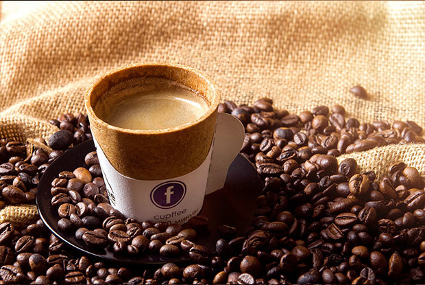 Cupffee ถ้วยกาแฟกินได้! ผลิตจากธัญพืช ย่อยสลายได้เร็ว ช่วยลดขยะได้จริง