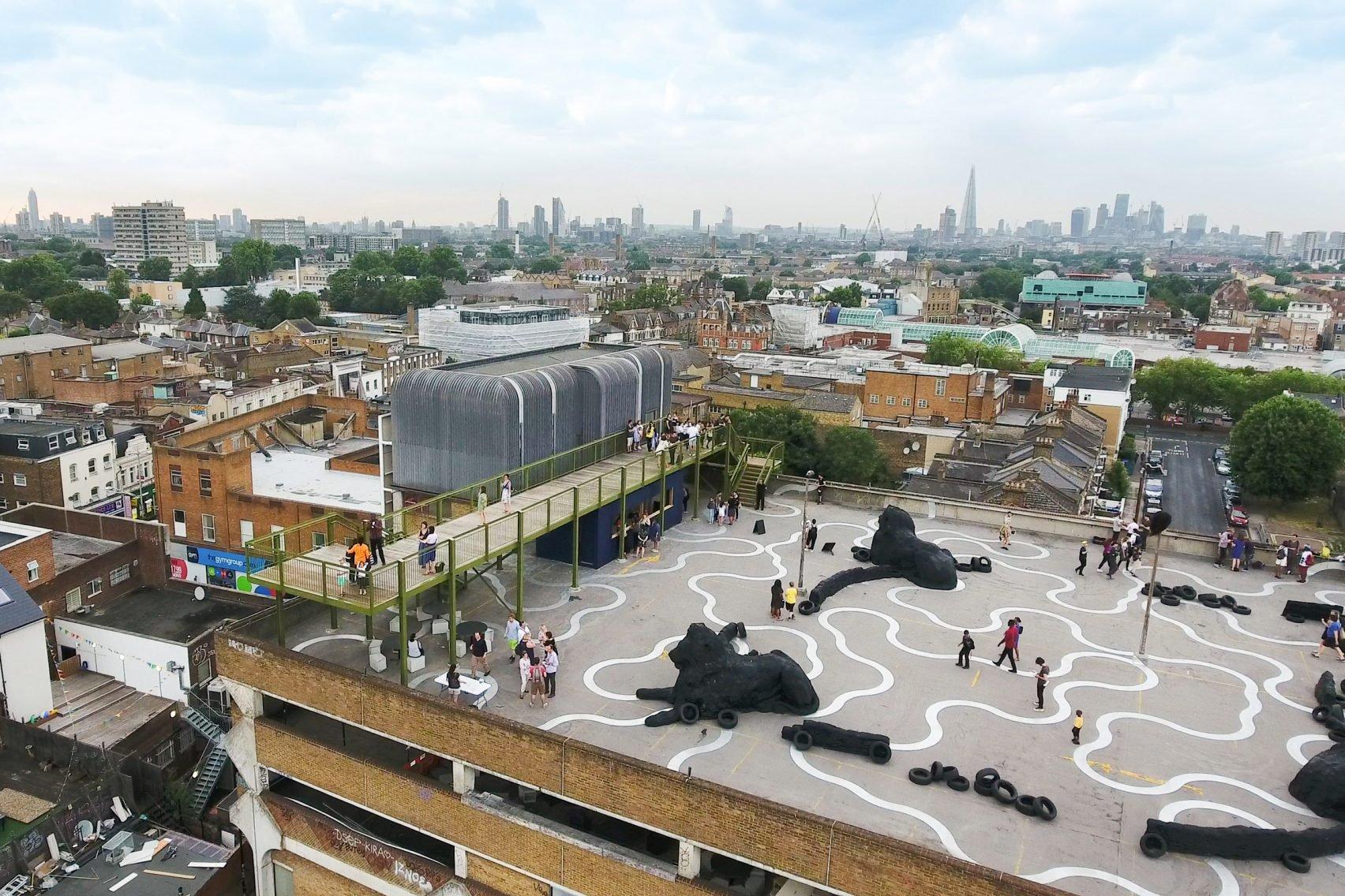 'เพื่อคน เพื่อเมือง เพื่อวัฒนธรรม' การเปลี่ยนผ่านของตึกจอดรถเก่าในมหานครลอนดอน