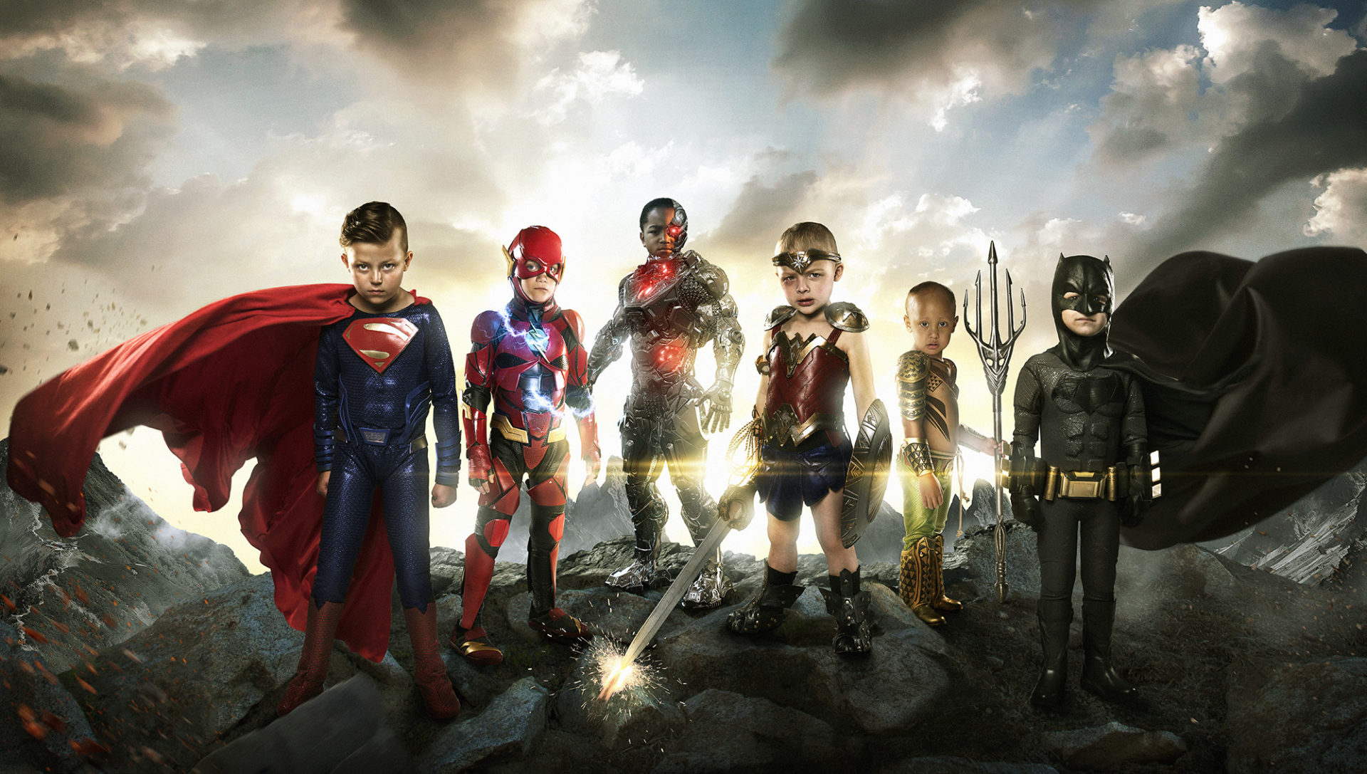 The REAL Justice League! ช่างภาพอเมริกันถ่ายภาพ 'นักสู้ตัวจิ๋ว' เป็นเหล่าฮีโร่สร้างพลังบวก