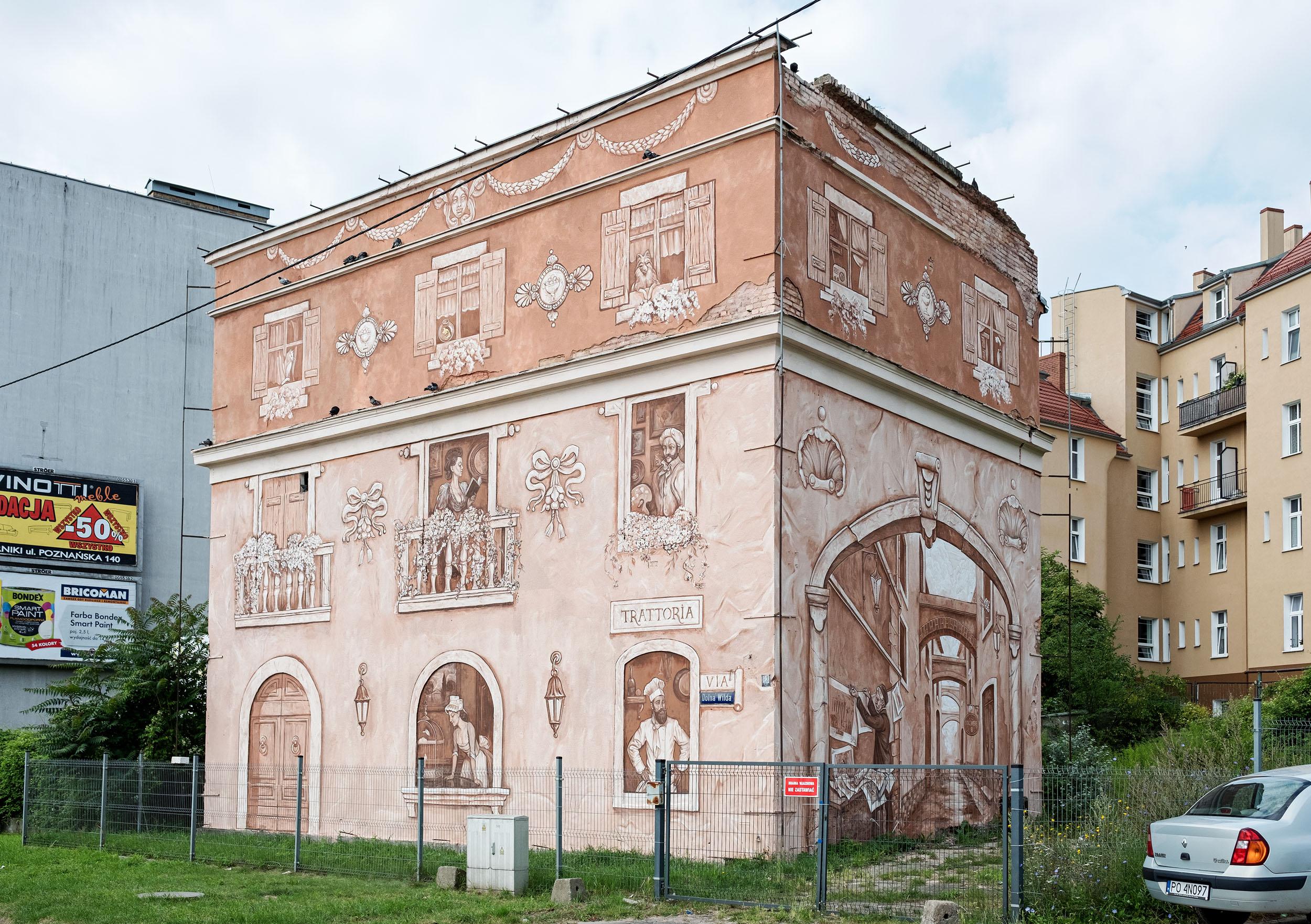 Neighbors โปรเจ็กต์ศิลปะในโปแลนด์ เปลี่ยนผนังบ้านร้างสร้างสัมพันธ์ฉันท์เพื่อน