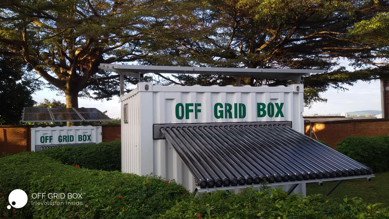 Off Grid Box นวัตกรรมตู้ผลิตโซลาร์เซลล์ขนาดย่อมสำหรับพื้นที่ขาดแคลนไฟฟ้า