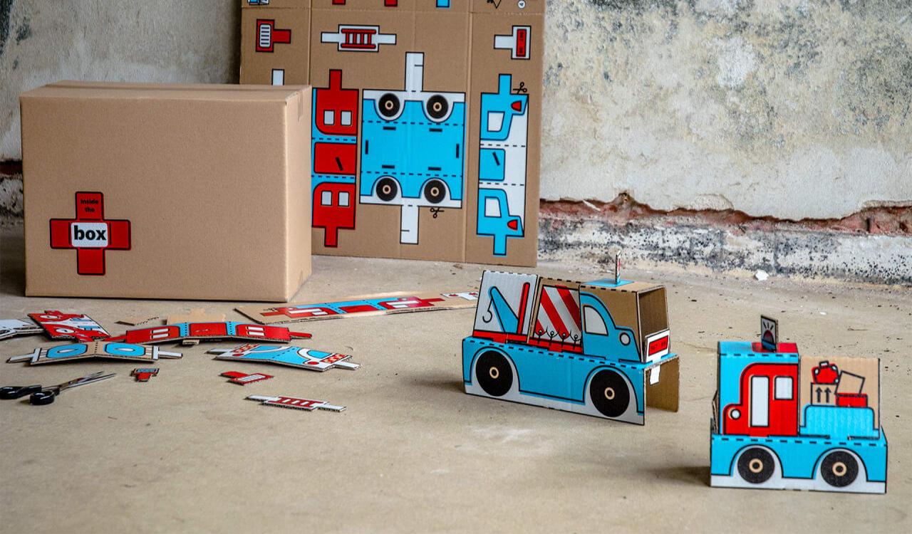 Inside the Box: ต่อชีวิตกล่องบรรเทาทุกข์เป็นของเล่นเด็กในค่ายอพยพ