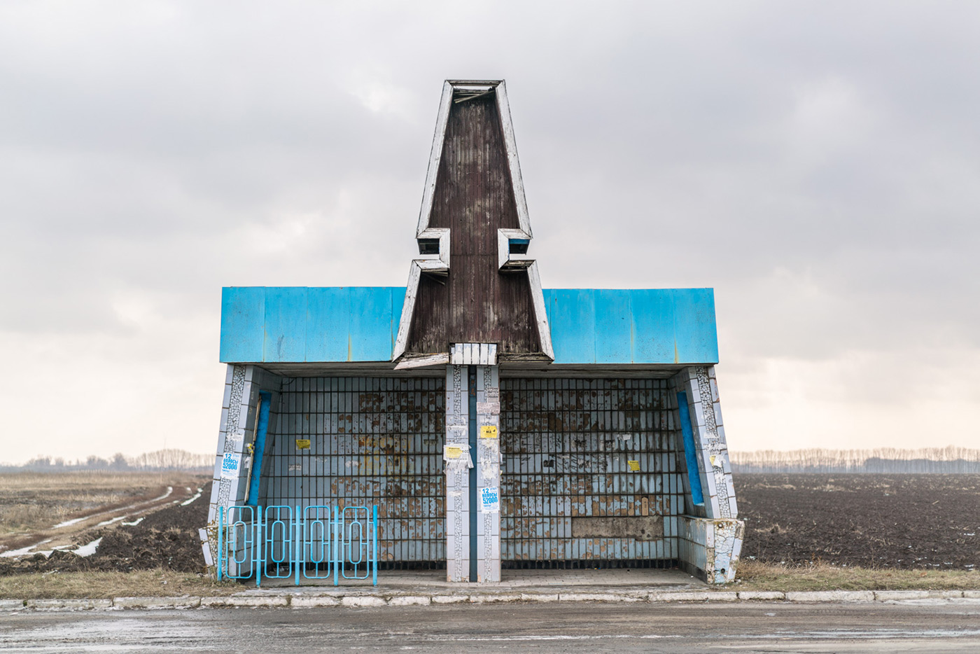 Russia Bus Stops Volume II: ป้ายรถเมล์อาร์ตๆ ในชนบทห่างไกลของรัสเซีย