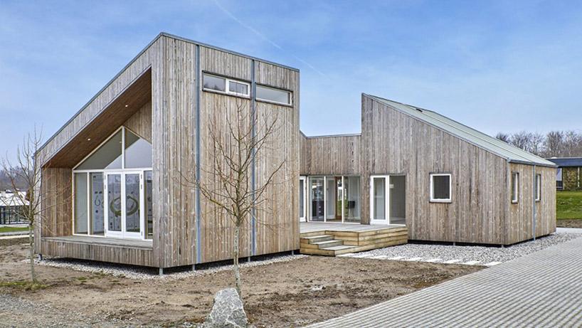 บ้านสวยรักษ์โลกในเดนมาร์ก สร้างจากขยะเหลือใช้ ลดการทำลายธรรมชาติ