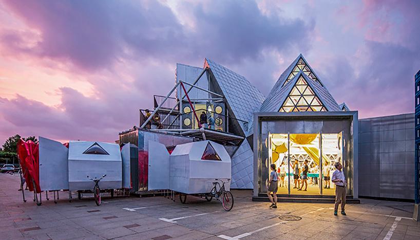 ศูนย์วัฒนธรรม The People's Station เคลื่อนที่เข้าหาชุมชนด้วยแนวคิดสถาปัตย์แบบใหม่
