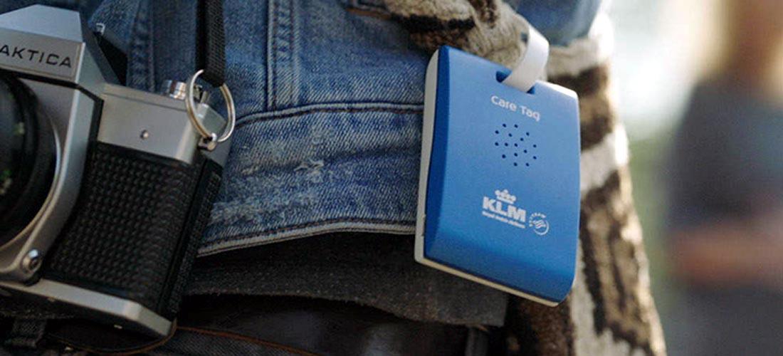 KLM Care Tag ป้ายห้อยกระเป๋าอัจฉริยะ เป็นไกด์ส่วนตัวให้ตลอดทริปในอัมสเตอร์ดัม