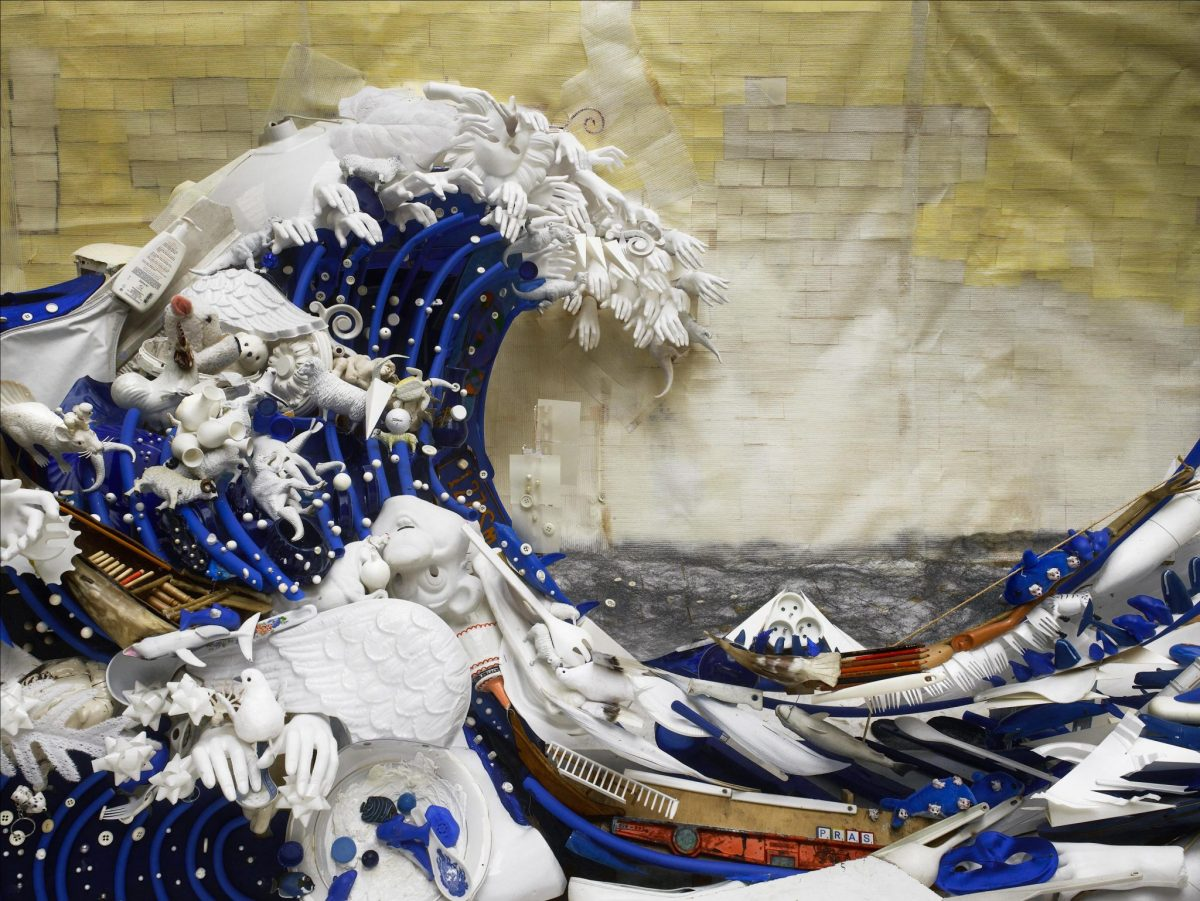 ศิลปะสีสวยสะท้อนโลกป่วยๆ ของสังคมบริโภคโดยศิลปิน Bernard Pras