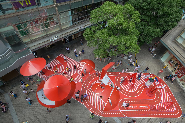 Red Planet สวนสนุกสุดสนานกลางห้างในเซี่ยงไฮ้ ดีไซน์ไร้กฎเพื่อจิตนาการไร้ขีดจำกัด