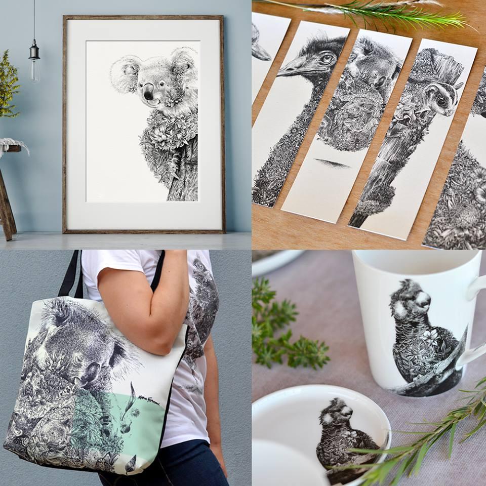 Marini Ferlazzo แบรนด์สินค้าลายเส้นรูปสัตว์ป่าเพื่อการอนุรักษ์สัตว์โลก