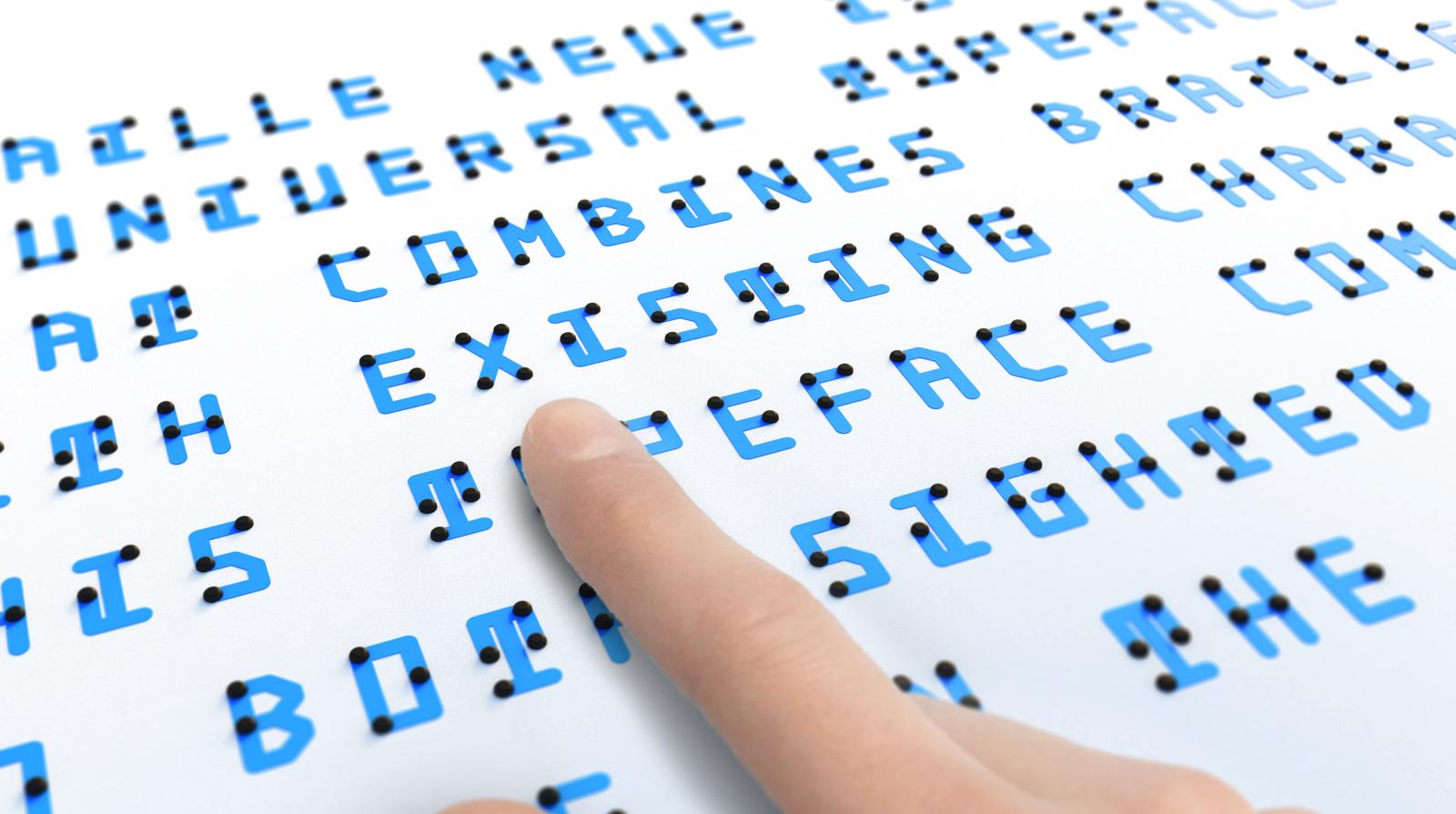Braille Neue แบบอักษรเพื่อความเท่าเทียม สำหรับผู้ที่มีสายตาดีและผู้พิการทางสายตา