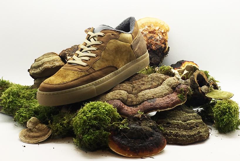 รองเท้าผ้าใบไฮเอนด์ผลิตจากเชื้อราเห็ด ทำมือแบบอิตาเลียน เป็นมิตรต่อสิ่งแวดล้อม