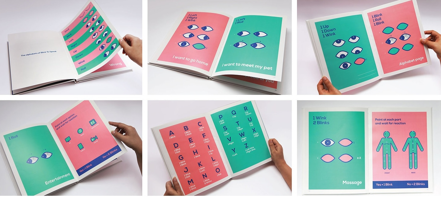 Blink To Speak คู่มือ 'ภาษาตา' เล่มแรกของโลก ช่วยผู้ป่วยติดเตียงสื่อสารด้วยดวงตา