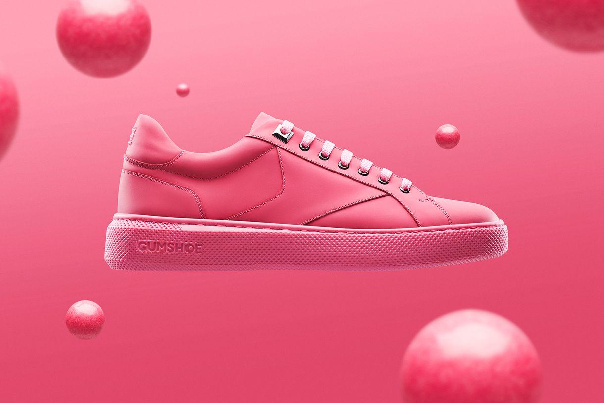Gumshoe รองเท้าผ้าใบคู่แรกของโลกผลิตจากขยะหมากฝรั่งรีไซเคิล