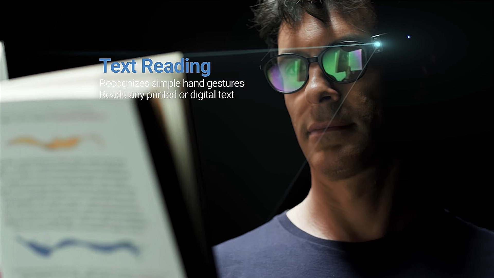 Orcam Myeye 2.0 อุปกรณ์ติดแว่น ช่วยเป็นตาที่สองให้ผู้พิการทางสายตา