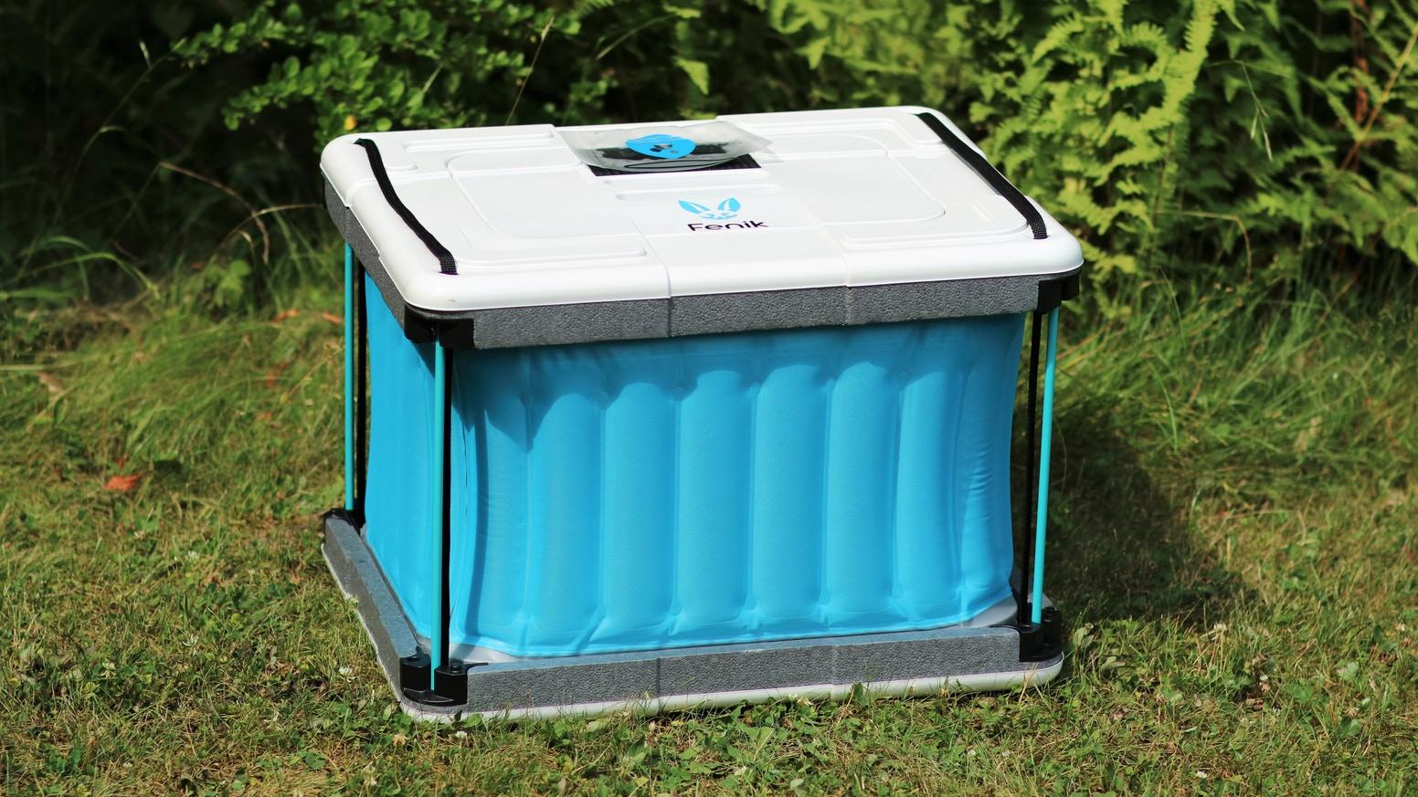 'Fenik' ตู้เย็นขนาดพกพา ไม่ใช้ไฟฟ้า ไม่ใช้น้ำแข็ง ทางเลือกใหม่สำหรับการถนอมอาหาร