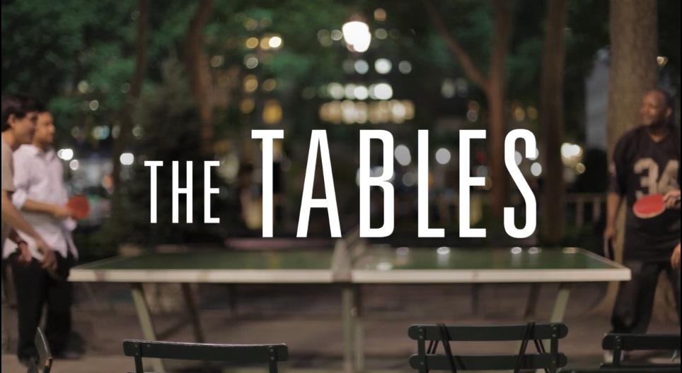 The Tables: เชื่อมโยงความโดดเดี่ยวในนิวยอร์กด้วย 'ปิงปอง'