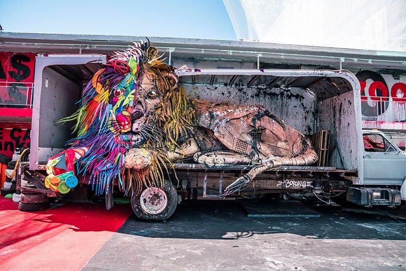 ศิลปิน Bodalo II ชวนเที่ยวสวนสัตว์(ขยะ)ขนาดใหญ่ 'Wild Wild Waste'