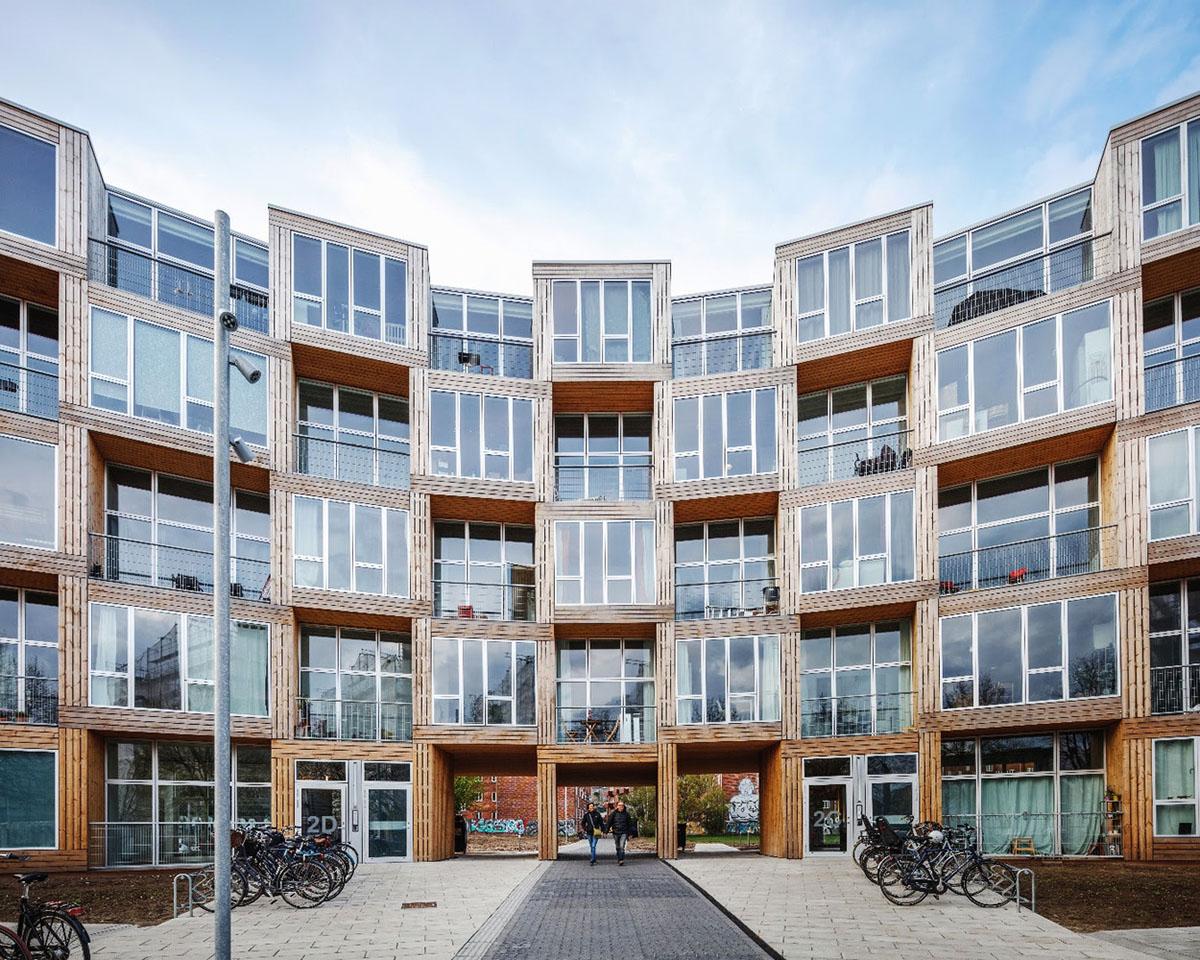 ที่พักราคาประหยัดในเดนมาร์ค ผสานคน สถาปัตยกรรม และพื้นที่สาธารณะเข้าด้วยกัน