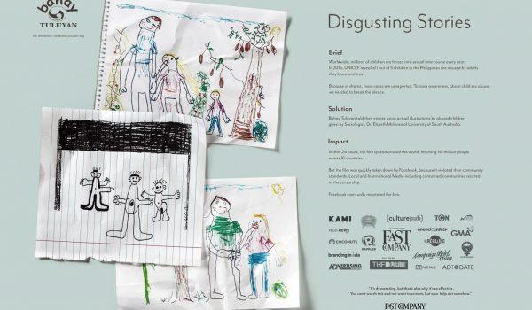 Disgusting Stories เรื่องราวที่ไม่น่าดูของเด็กถูกละเมิดทางเพศ แต่ทุกคนควรดู!