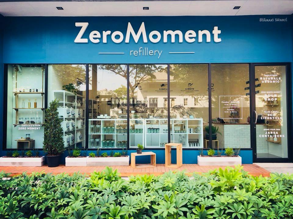 ZeroMoment Refillery ร้านค้าไร้บรรจุภัณฑ์ นำภาชนะมาเอง ซื้อเท่าไหร่ จ่ายเท่านั้น