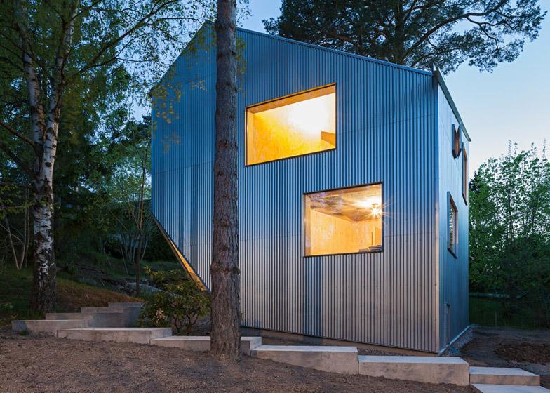 บ้านต้นแบบขนาด 110 ตรม. ราคาประหยัดพร้อมพื้นที่ใช้สอยครบครันในสวีเดน