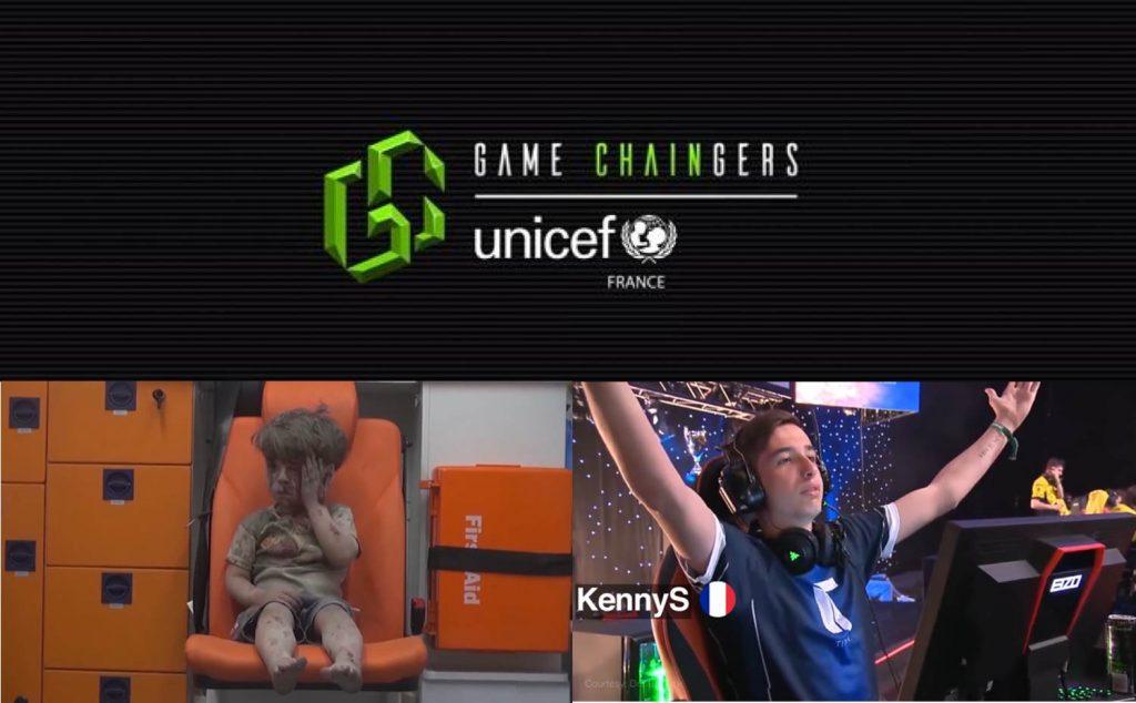 Game Changers แคมเปญระดมทุนรูปแบบใหม่จากยูนิเซฟ ชวนเกมเมอร์บริจาคด้วยสกุลเงินดิจิทัล