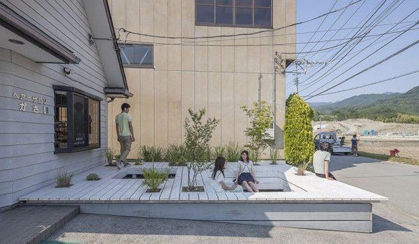 Pit Terrace ระเบียงขาวกับต้นไม้เขียว ปันพื้นที่ส่วนตัวเป็นพื้นที่สาธารณะให้ชาวเมือง