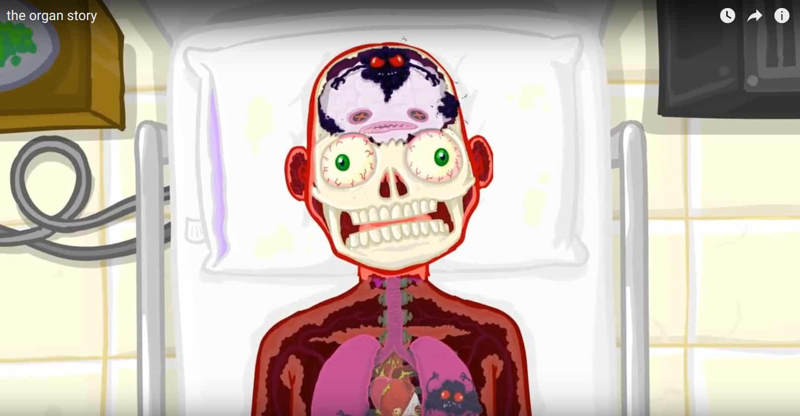 Organ Story: เกิดเป็นอวัยวะต้องเจ็บปวดขนาดไหน