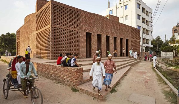 Bait Ur Rouf Mosque มัสยิดในบังคลาเทศ ศูนย์รวมจิตใจชุมชน กลมกลืนกับท้องถิ่น