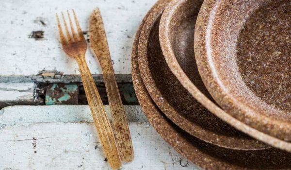'Biotrem' จานชามจากรำข้าวสาลี ปลอดภัย กินได้ ย่อยสลายได้ภายใน 1 เดือน